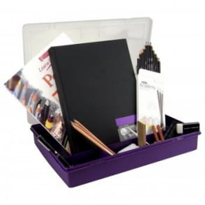 Colour & Sketch Drawing kit With Storage Box