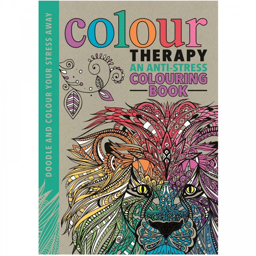 Colour therapy colouring book - Book Colour Therapy Colour Therapy Colouring Book