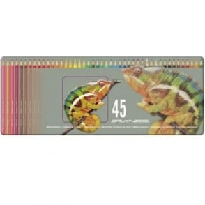 Coloured Pencils Tin of 45