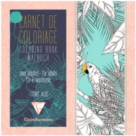Colouring Book of Tropical Birds and Forests