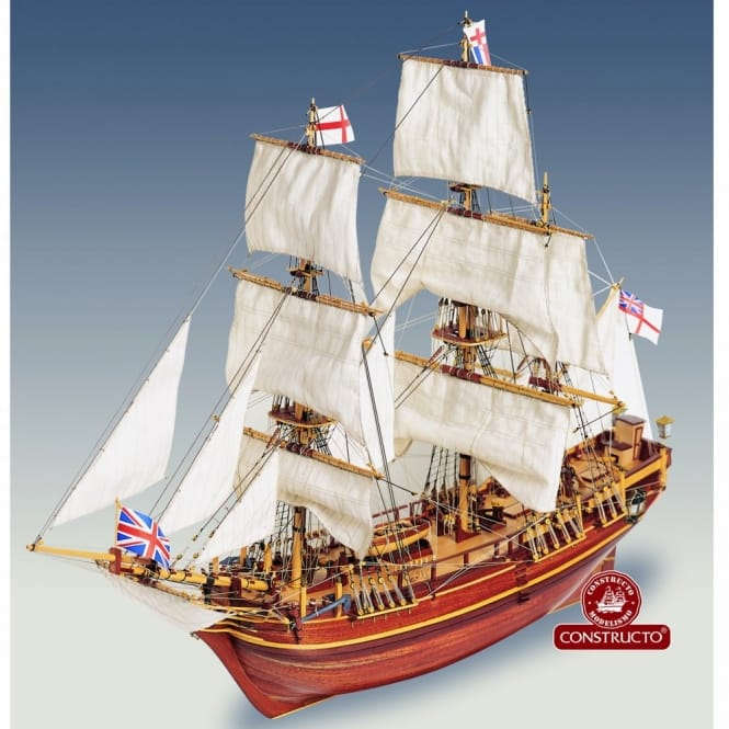 Constructo HMS Bounty Building Kit 1:110