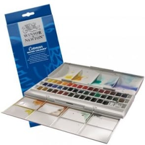Cotman The Half Pan Studio Set (45 Half Pans)