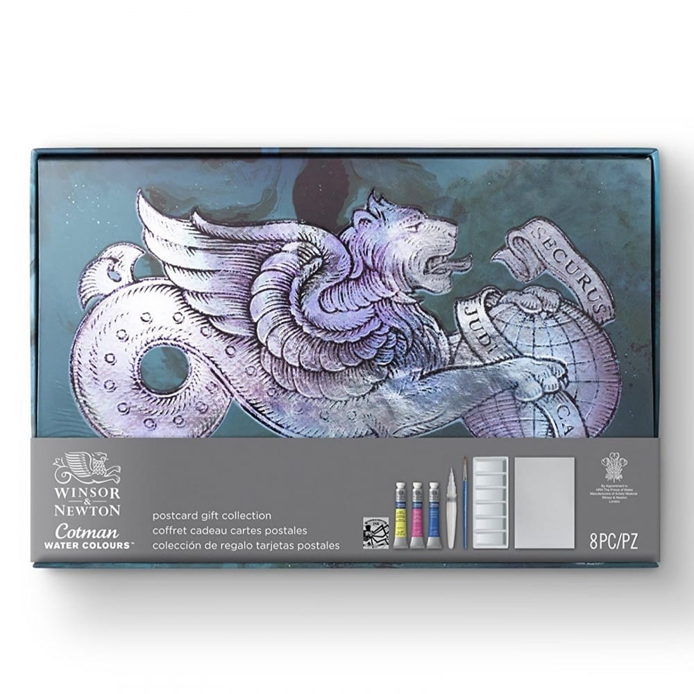 Cotman Water Colour Postcard Gift Collection Winsor Newton