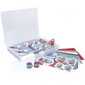 Craft Time Christmas Greeting Cards & Organiser Kit
