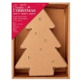 Craft Your Own Light Up - Mini Tree