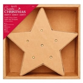 Craft Your Own Light Up - Star