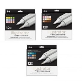 Crafter's Seascape, Figure & Sketching Spectrum Noir Illustrator 36  Bundle