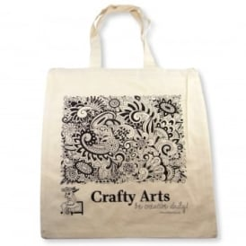 Crafty Arts Canvas Tote Bag
