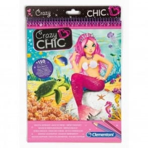 Crazy Chic Mermaids Sketch Book*