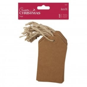 Create  Brown Kraft Tags 20pack