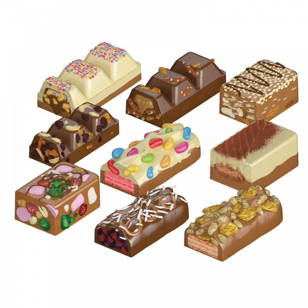 Create Your Own Chocolate Bar Maker Flair From