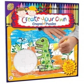 Create Your Own Crayon Puzzle - Dino*