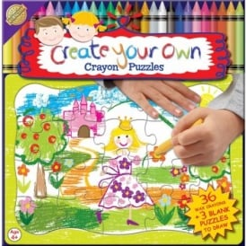 Create Your Own Crayon Puzzle - Princess*