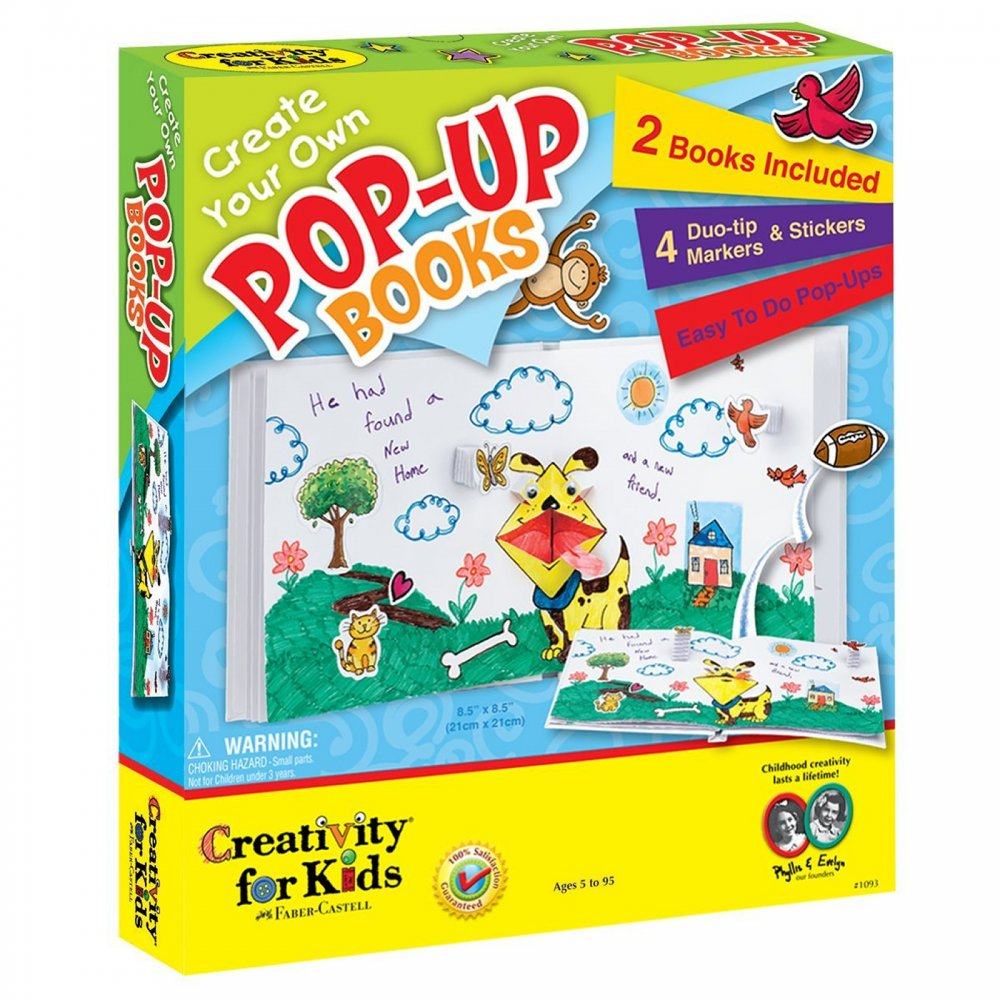 Create your own pop up books creativity for kids from for Design your own house for kids