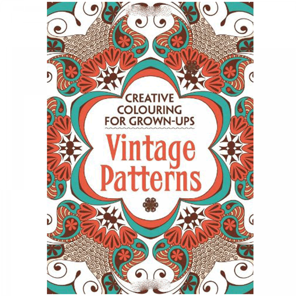 Coloring Books For Grown Ups: Creative Colouring For Grown-ups -Vintage Patterns