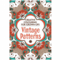 Creative Colouring for Grown-ups -Vintage Patterns