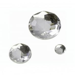 Crystal Glamour Gem Stones - Round