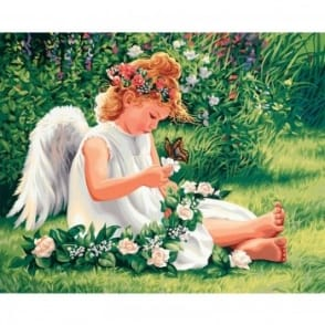 Darling Angel Paint by Numbers