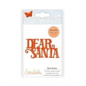 Dear Santa - Sentiments Die