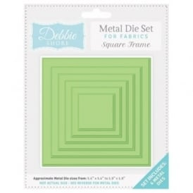 Debbie Shore Fabric Dies - Square Frame