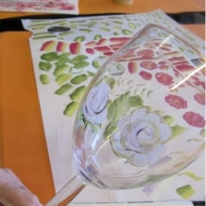 Decorative Art One Stroke Painting on Glass wear | 4hrs | 10.00am-2.30pm| Saturday 15th October