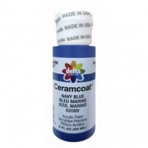 Delta Ceramcoat Navy Blue 59ml