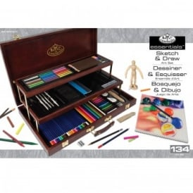 Deluxe Sketch And Draw Art Set - ART8100-3T