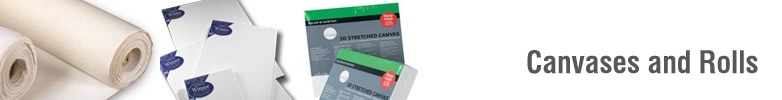 Canvases Stretched &amp; Rolls      </div></div> <div id=