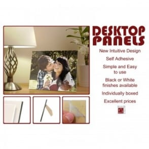 "Desktop Black Edged Photo Panel 8 x 10""*"