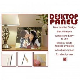 Desktop White Edged Photo Panel A4*