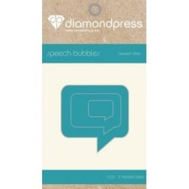 Diamond Press - Mini Nested Dies Speech Bubbles x3