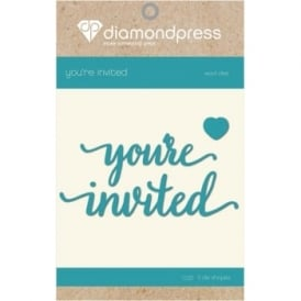 Diamond Press - Word Dies You're Invited