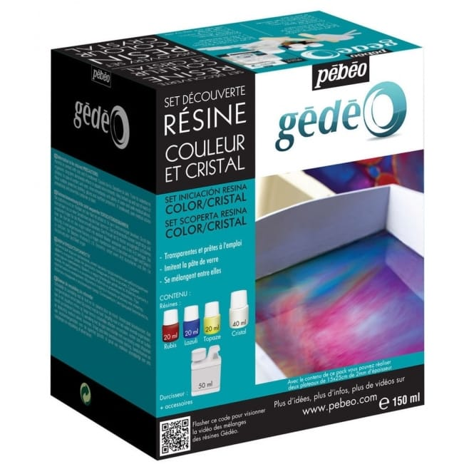 Discovery Set Resin: Colour Crystal 150ml