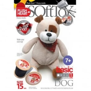 DIY Basic Dog Soft Toy 15cm