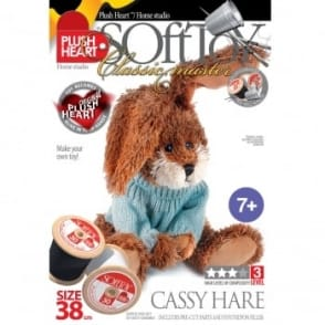 DIY Classic Master - Cassy Hare Soft Toy 38cm