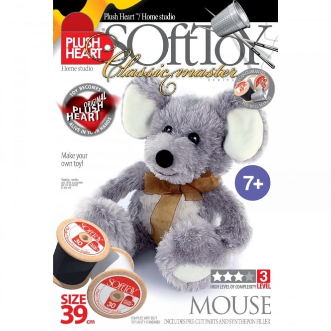 DIY Classic Master - Mouse Soft Toy 39cm