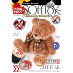 DIY Classic Master - Ollie Bear Soft Toy 22cm