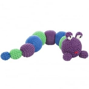 DIY Crochet Kit - Colourful Caterpillar Fred
