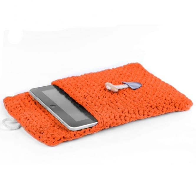 DIY Crochet Kit Tablet Sleeve - Dutch Orange