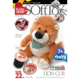 DIY Mini Lion Cub Soft Toy 22cm