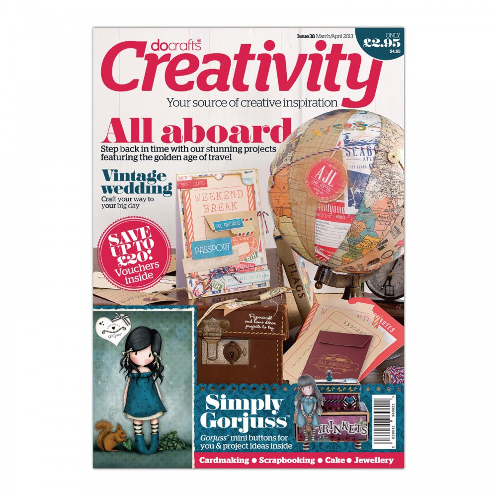 Do crafts creativity magazine issue 38 docrafts from Arts and crafts home magazine