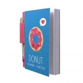 Donut Sketch & Sniff Note Pad and Pen
