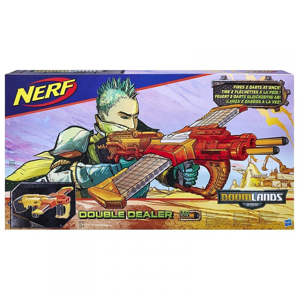 Doomlands Double Dealer Blaster Dart Gun**^