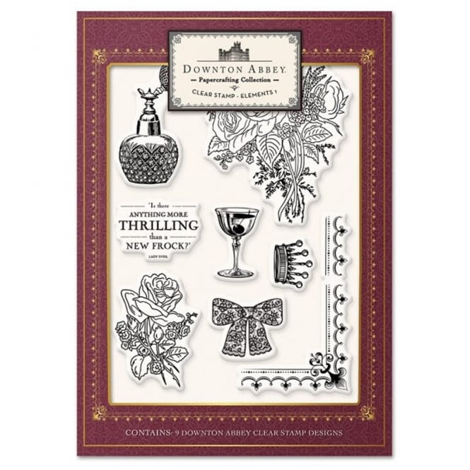 Downton Abbey - Clear Stamp Elements 1