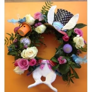 Easter Wreath Workshop |3 hours| Saturday 8th April 2017 | 10.00-13.00