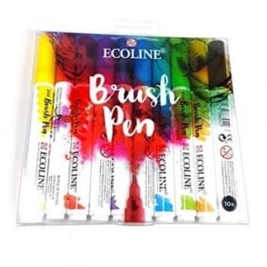 Ecoline Brush Pen 10 Pack
