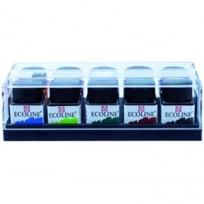 Ecoline Watercolour Inks 10 x 30mls