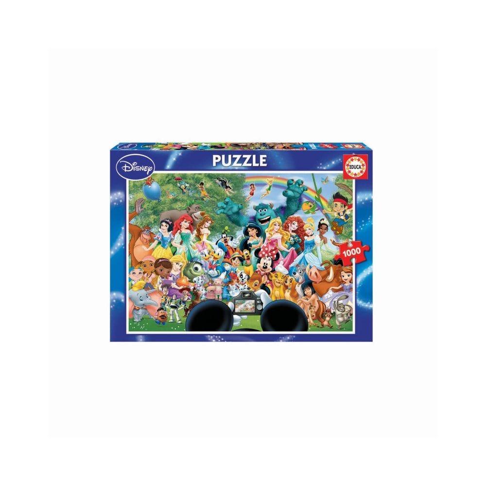 The Marvellous World of Disney Educa 1000 Piece Jigsaw Puzzle