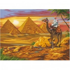 Egyptian Desert Large Paint by Numbers