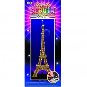 Eiffel Tower Strictly Sequin Art